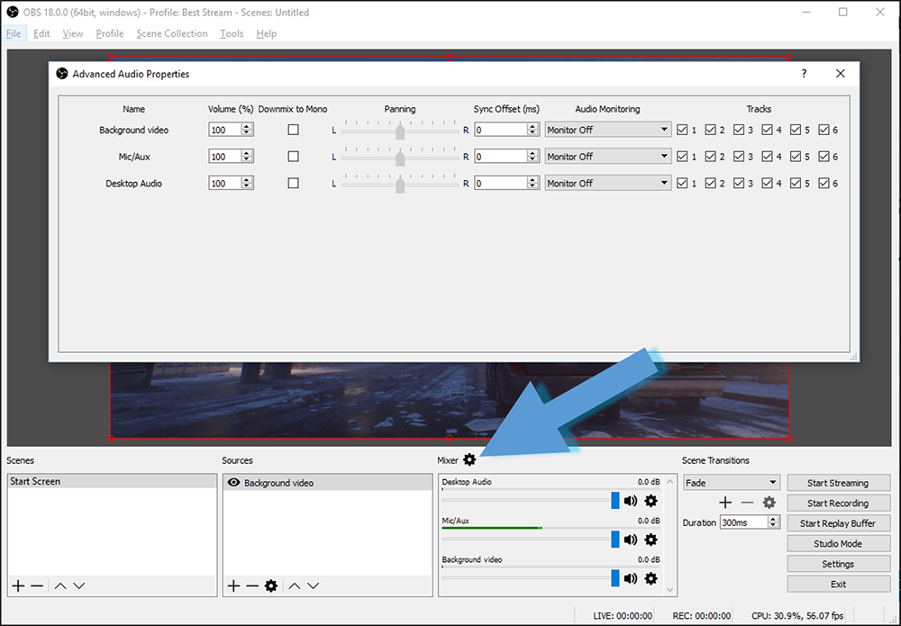 Open Broadcaster Software Audio Out Of Sync
